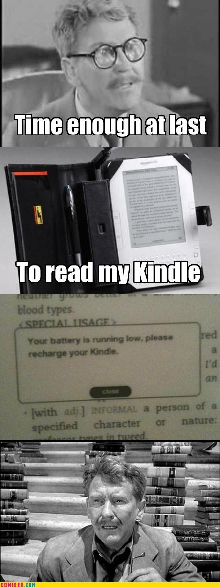 kindle schadenfreude technology TV twilight zone - 3488333056