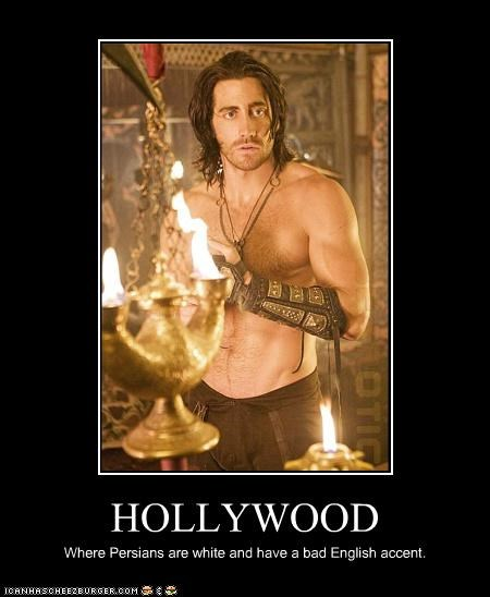actor doing it wrong hollywood jake gyllenhaal movies prince of persia - 3488887296