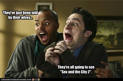 Donald Faison movies scrubs sequel sex and the city TV wives Zach Braff - 3489197568
