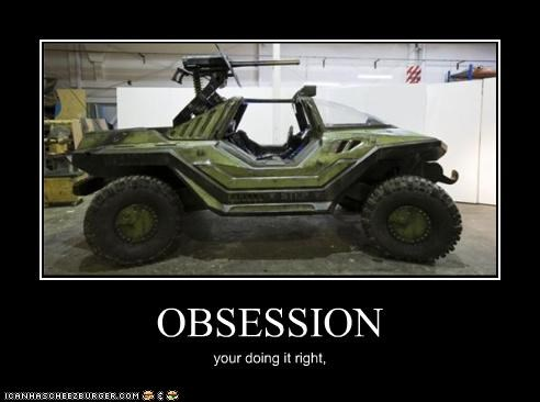 OBSESSION your doing it right,