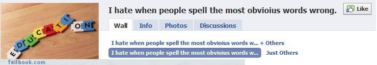 FAIL groups irony The Spelling Wizard - 3492350976