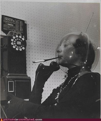 Aliens phone vintage wtf - 3493580288