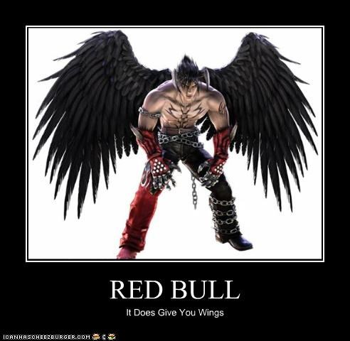 RED BULL It Does Give You Wings