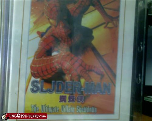 Movie Spider-Man typo Unknown - 3494314496