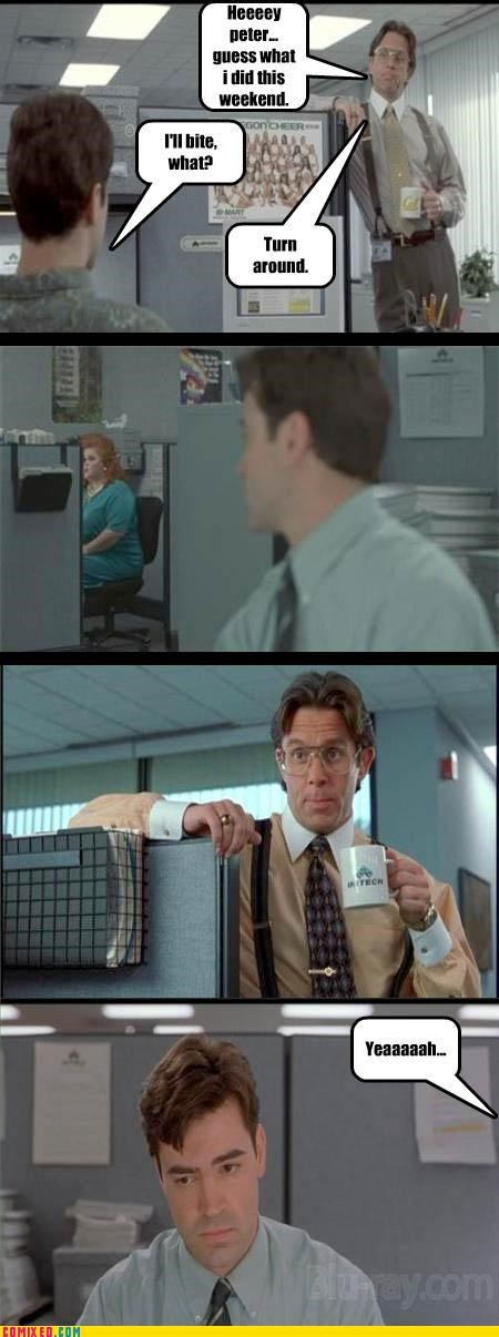From the Movies gross Office Space weekend - 3495271424