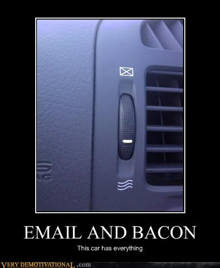 bacon cars culture email food Pure Awesome technology - 3495471872