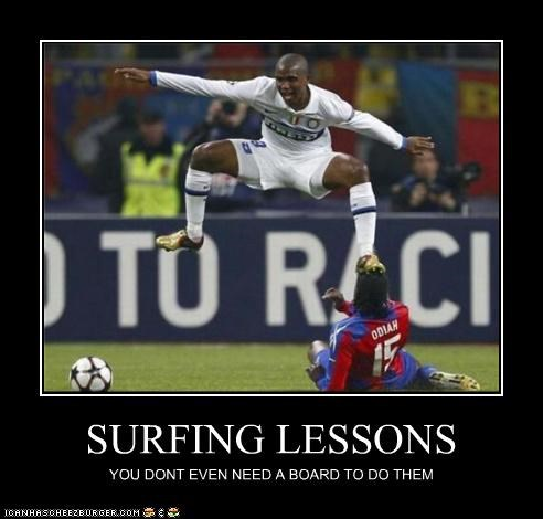 SURFING LESSONS YOU DONT EVEN NEED A BOARD TO DO THEM