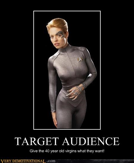 7 of 9 babe borg impossible Mean People Star Trek voyager - 3498445312