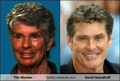 actor,david hasselhoff,old,woman