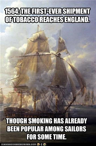 ocean painting ship smoke war