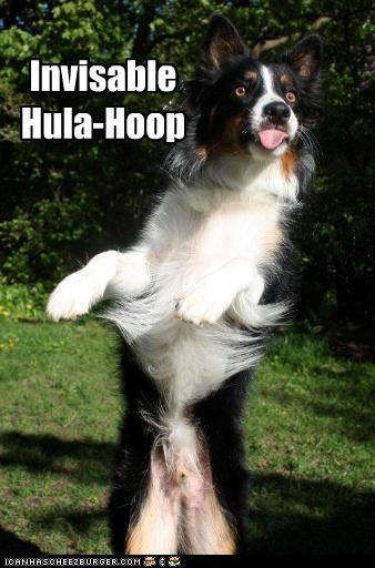 Invisable Hula-Hoop