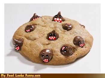 chocolate chip cookies,chocolate chips,cookies,domo,Japan,Sweet Treats,television