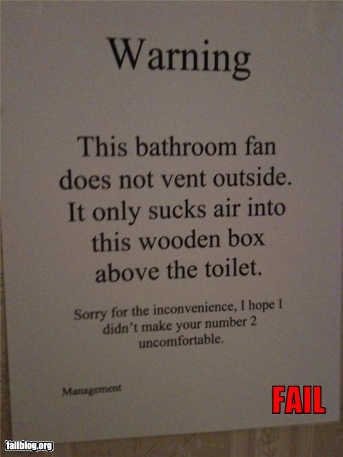 fan smelly toilet - 3500108288