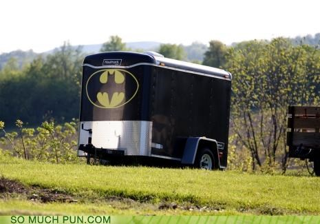 batman,farm,hitch,moving day,trailers