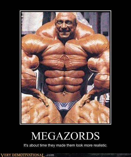 body builder realistic eww megazord - 3500778240