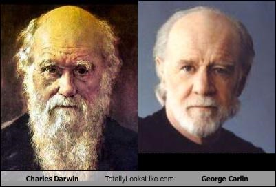 charles darwin comedian george carlin naturalist science