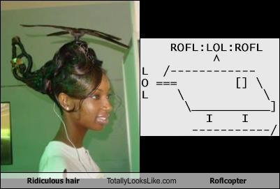 hair helicopter meme roflcopter