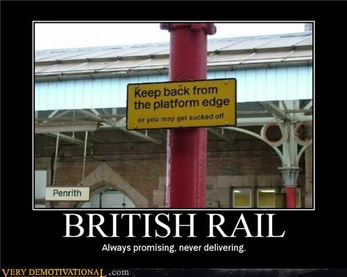 britain idiots public transit sexual acts signs trains