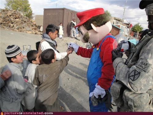 costume cultural imperialism kids mario real life Videogames wtf - 3503501312