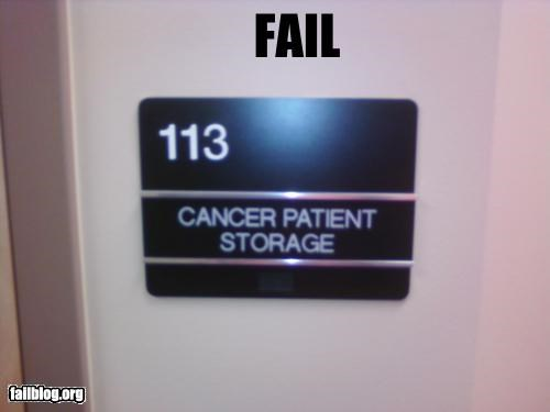 cancer failboat patient storage - 3503867136
