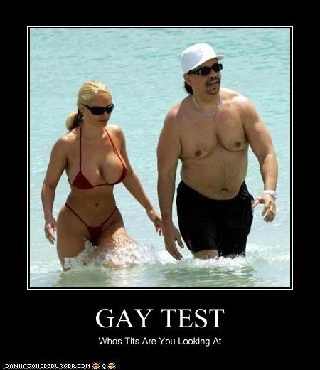 GAY TEST Whos Tits Are You Looking At