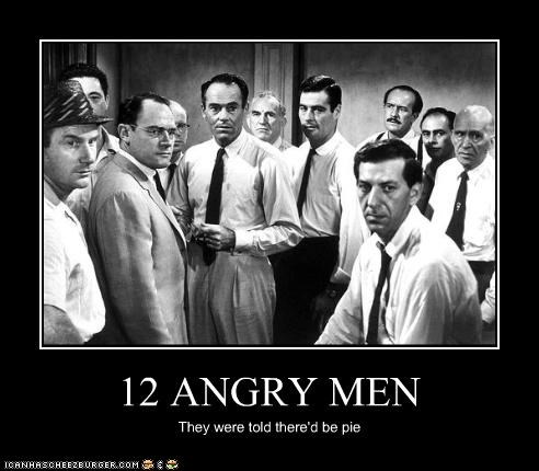 12 Angry Men angry classics movies pie - 3505052160