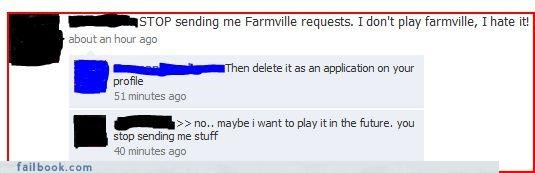 apps facepalm Farmville you-cant-make-us - 3508408320