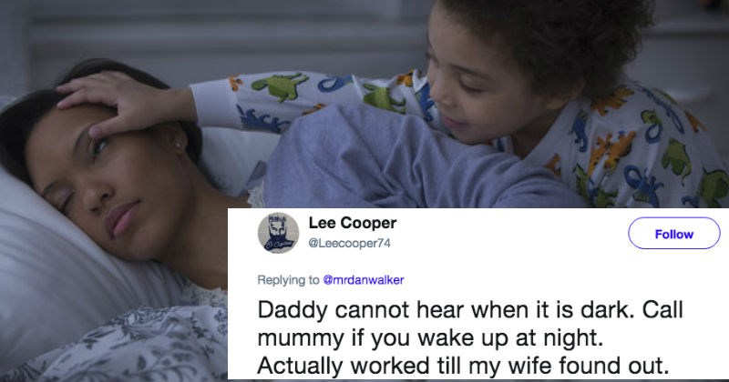 Parents share the funniest white lies they've ever told their children.