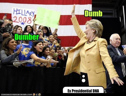 Dumb Dumber Ex Presidential DNA