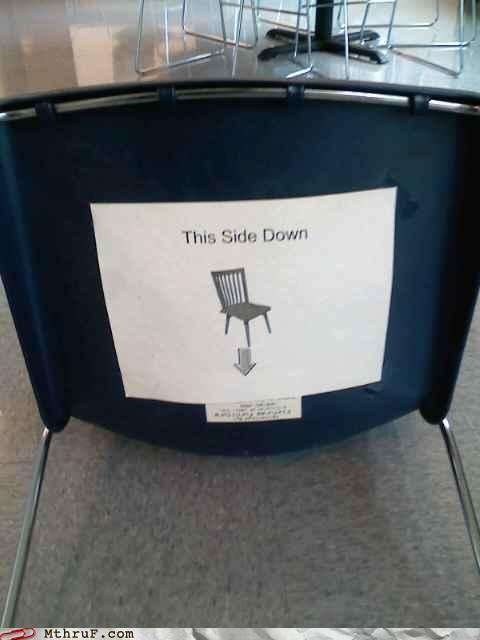 assinine awesome co-workers not basic instructions boredom bum joke butthole humor chair condescending cubicle boredom dickheads foreign body Gravity hardware i need an x-ray paper signs passive aggressive proctology ridiculous sass screw you signage wiseass - 3511913472