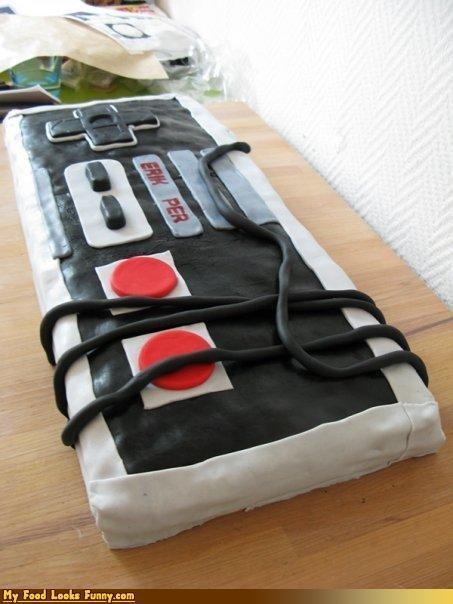 cake,controller,NES,nes controller,nintendo,original nintendo,Sweet Treats