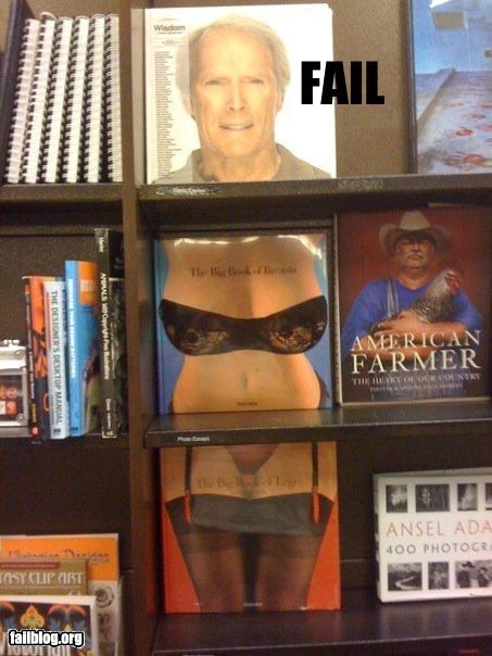 books,Clint Eastwood,failboat,sexy