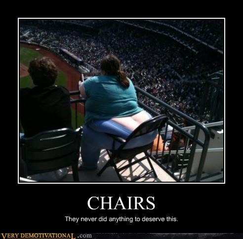 america chairs fat people Mean People obesity Sad sports