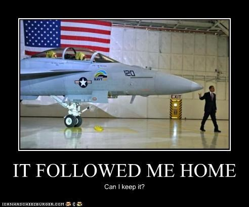 barack obama fighter jet jet pets plane president - 3515749376