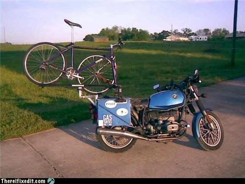 bicycle,dual use,motorcycle,towing,trailers
