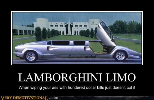 idiots lamborghini poor people suck rich wealth - 3516832000
