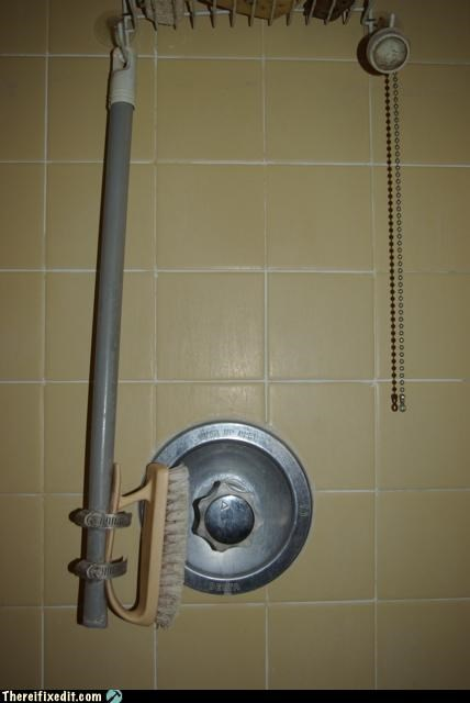 bathroom brush not intended use plunger tub - 3517880832