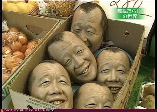 cannibalism food heads wtf - 3518339328