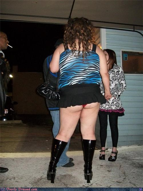 animal print,short skirts,trailer trash