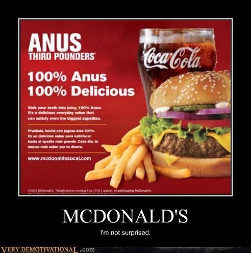 surprised gross McDonald's - 3519892992