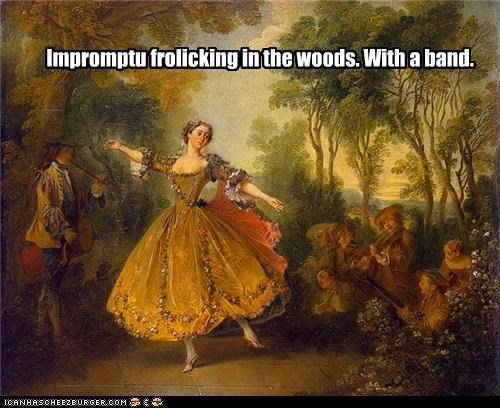 dancing,lady,Music,nature,painting