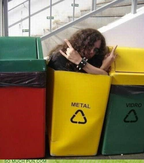 bins,kids,metal,puns,trash