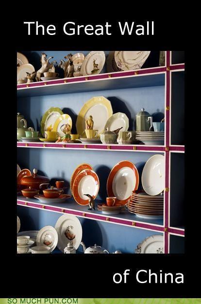 be careful breakable cabinet China dining set - 3521830400