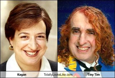 creepy,Elena Kagan,musician,politician,Supreme Court,tiny tim