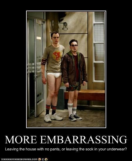 actors big bang theory embarrassing jim parsons johnny galecki nerds peen TV underwear - 3522701824