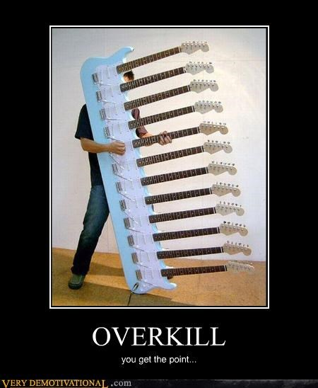 guitars overkill Pure Awesome rock-andor-roll shredmaster - 3522713088