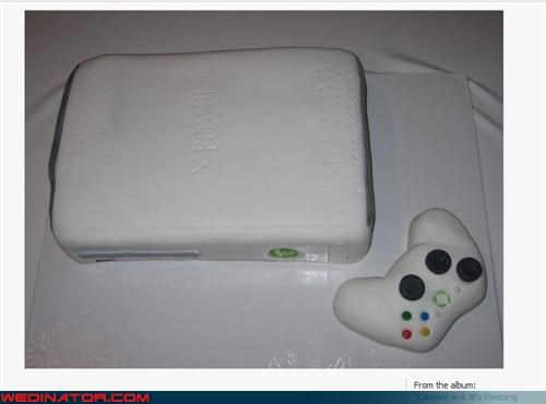 Dreamcake,groom,grooms-cake,themed wedding cake,wedding cake,Wedding Themes,xbox