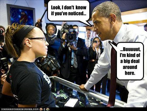 barack obama Democrat funny lolz president - 3522767360