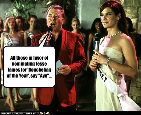 actor,actress,divorce,douchebags,jesse james,Miss Congeniality,movies,Sandra Bullock,William Shatner
