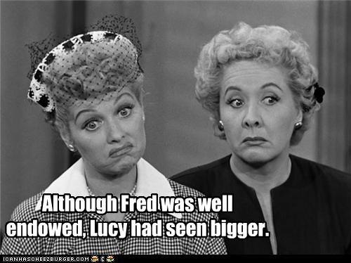 actress classic tv i love lucy lucille ball peen TV vivian vance well endowed - 3524279296